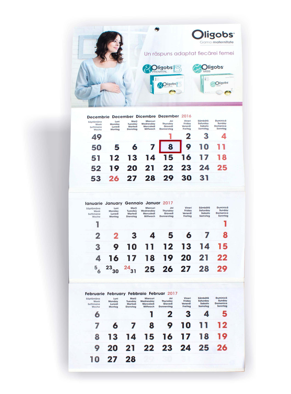 Calendare Perete 09